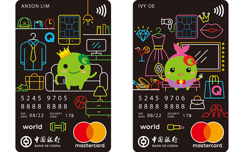 BOC Qoo10 World Mastercard